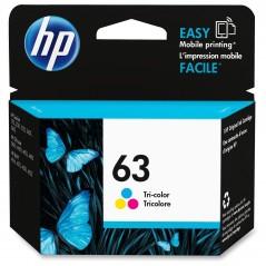 HP 63 Cartouche d'encre originale Tri-Color