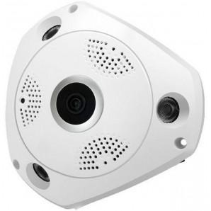 Caméra IP panoramique 3D sans fil à cam 360 cam avec caméra vocale