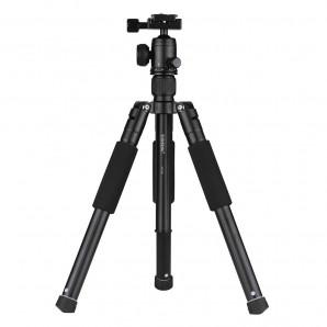 Trépied Yunteng VCT-190 en Aluminium avec rotule 5 sections pour Canon Nikon Sony DSLR Ildc Camera caméscope DV