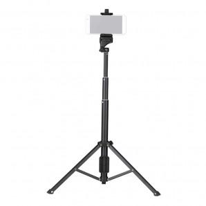 Trépied YUNTENG VCT-1688 2in1 Téléphone de Table Selfie Stick avec Télécommande pour  Smartphone et appareils DSLR ILDC