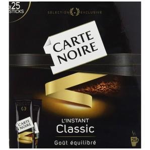 Café Soluble 25 Sticks 45g Carte noire