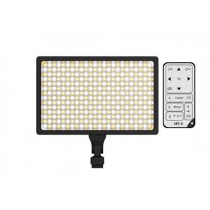 Lampe Caméra vidéo LED-336A 3600 mAh et chargeur U006 Changer la couleur