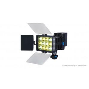Lampe vidéo LED-1040A +batterie NP-F750 + chargeur