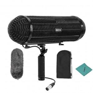 Microphone BY-WS1000 pare-brise professionnel pour appareil photo Canon Nikon