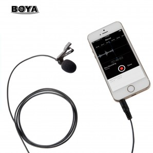 Microphone Lavalier BOYA BY-LM10 Omni-directionnel