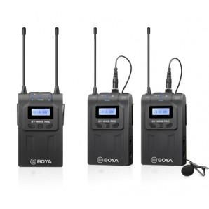 Microphone à double canal UHF BOYA BY-WM8 Pro-K2 sans fil