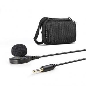 Microphone cravate portable BOYA BY-HLM1 pour dslr caméra caméscope