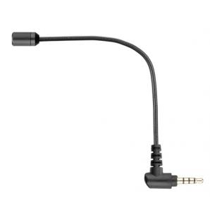 Microphone BOYA BY-UM4 à condensateur omnidirectionnel 3.5mm Connecteur TRRS pour iOS Smartphone Android Tablet PC