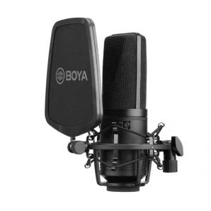 Microphone à condensateur à grande membrane BOYA BY-M1000