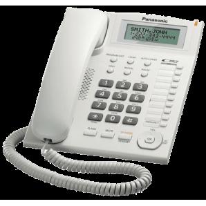 Téléphone fixe filaire Panasonic KX-TS880MX (blanc)