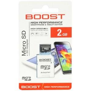 Carte mémoire micro SD haute vitesse - 2Go