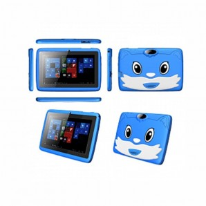 Tablette Educatif Lenosed Kids Tab A73, 7 pouces, Android 8.1.0, 16 Go, 2 Go DDR3, Wi-Fi, Quad Core, double caméra, Bleu