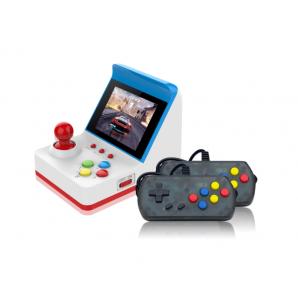 Console de jeu portable rétro Mini Arcade Station 360 jeux vidéo intégrés blanc + bleu