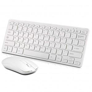 Clavier et Souris sans fil 2.4G GKM901 pour ordinateur de bureau et PC