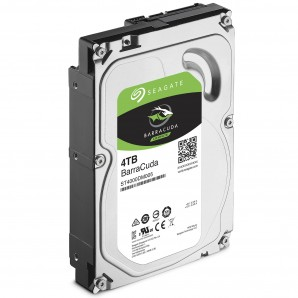 Disque dur PC Bureau 4To Seagate BarraCuda